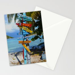 All Roads Lead to Happiness Stationery Cards