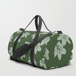 Lily The Tiger - Green Duffle Bag