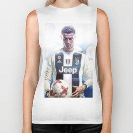 Cristiano Ronaldo To Juventus Biker Tank