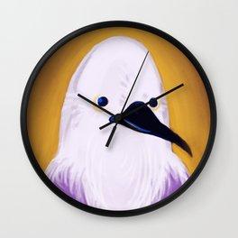 Sir McBirdly Wall Clock