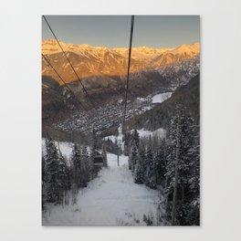 Telluride Col Canvas Print