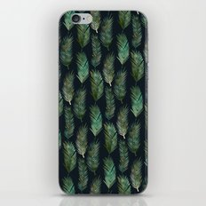 Tropical Pattern at Night iPhone & iPod Skin
