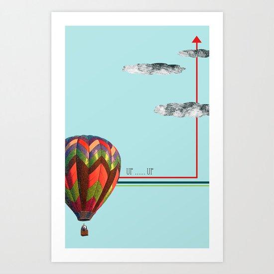 Up...up Art Print