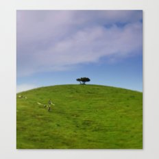 On top of the World Canvas Print