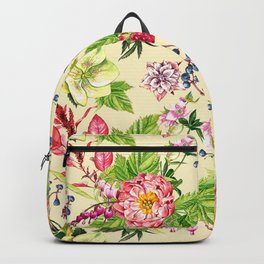 Fowers and Berries Spring Backpack