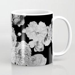 Grey Rose Coffee Mug
