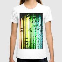 women T-shirts featuring women  by new art