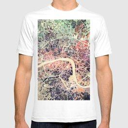 London Mosaic Map #1 T-shirt