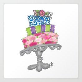 amy's cake Art Print