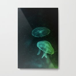 Sea Jelly Metal Print