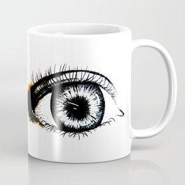 Looking In #1 - Original sketch to digital art Coffee Mug