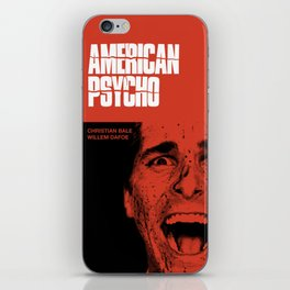 Psycho American iPhone Skin