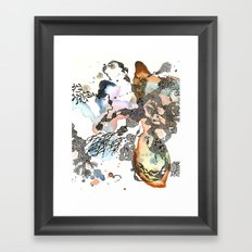 Is that a sea plant or a sea animal?  Framed Art Print