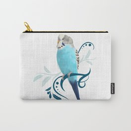 Blue Parakeet Carry-All Pouch