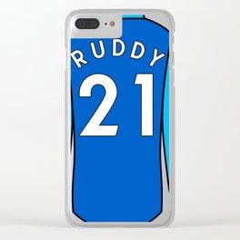 John Ruddy Jersey Clear iPhone Case