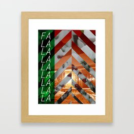 fa la la Framed Art Print