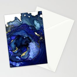 Blue Agate No1 Stationery Cards