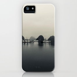 Ha Long Bay early morning iPhone Case