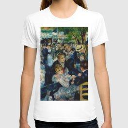 Pierre August Renoir's Bal Du Moulin De La Galette Restored T-shirt
