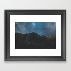 The Mountain Framed Art Print