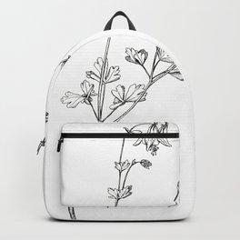 Eastern Red Columbine Backpack