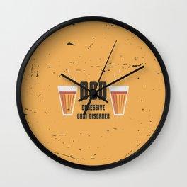 Funny Chai Disorder Wall Clock