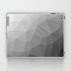 LOWPOLY BLACK AND WHITE Laptop & iPad Skin