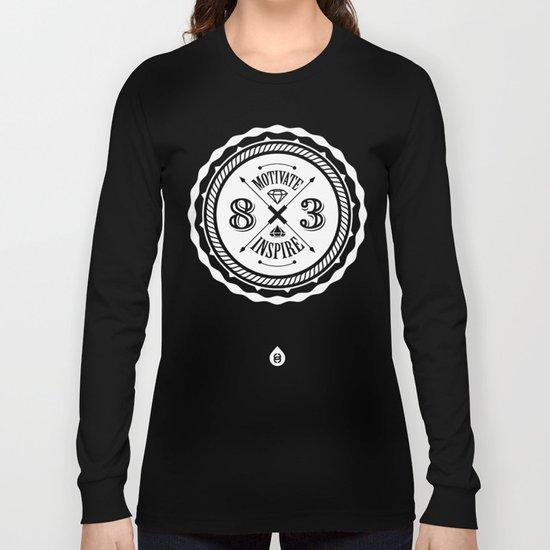 Motivate & Inspire (White) Long Sleeve T-shirt