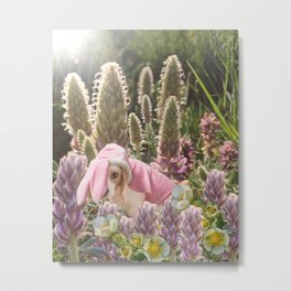 Hoppy Spring Metal Print