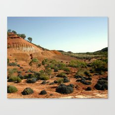 Lark Quarry - Outback Australia Canvas Print