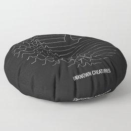 Unknown Creatures Floor Pillow