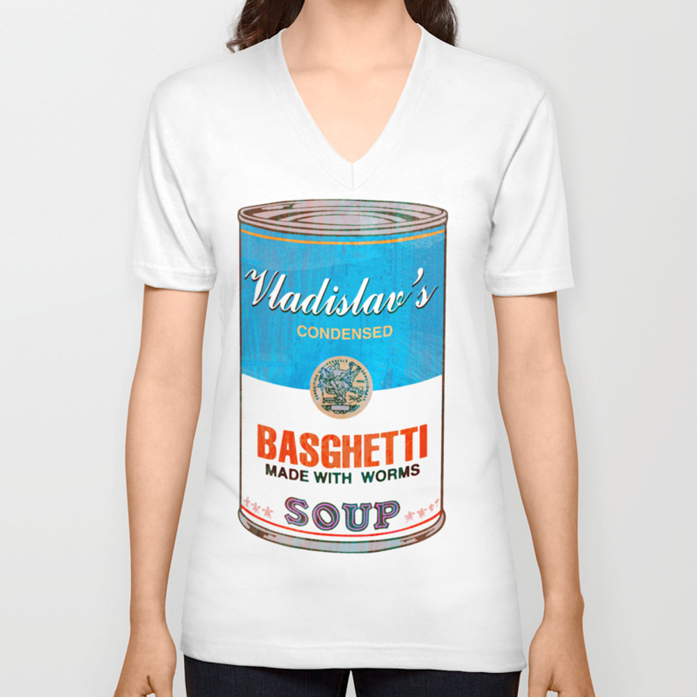 What We Do In The Shadows: Do You Like Basghetti? Unisex V-neck by Madaramason VNT3406757