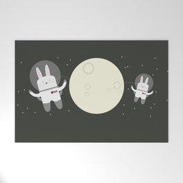 Astro Bunnies Welcome Mat