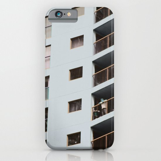 postcard from a tower block... iPhone & iPod Case