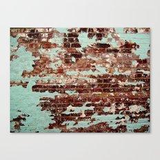 Half Naked Bricks Canvas Print