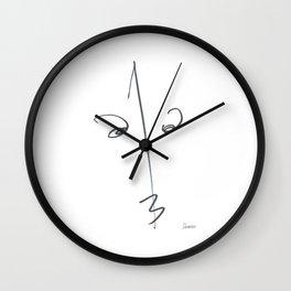 Demeter Moji d1 3-2 w Wall Clock
