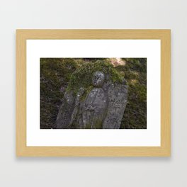 Japanese Statue Framed Art Print