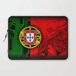 circuit board Portugal (Flag) Laptop Sleeve