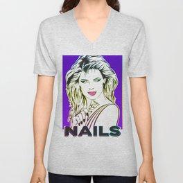 Nails Unisex V-Neck