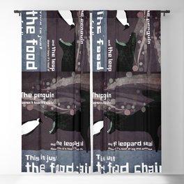 food chain 5 Blackout Curtain