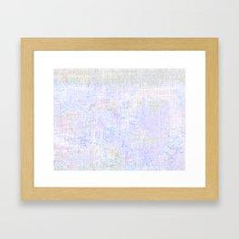 White Out 1 Framed Art Print