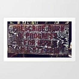 Prescribed Burn Art Print