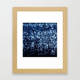 White Lake Framed Art Print