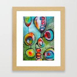 Pleine conscience/Mindfulness Framed Art Print