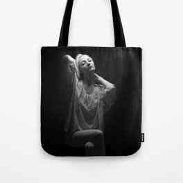 Dancer with Light Tote Bag