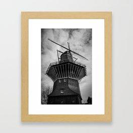 Molen De Gooyer Framed Art Print