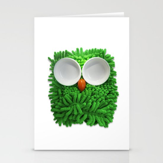 Hootie the House Owl! Stationery Cards