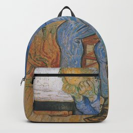 Vincent van Gogh - Sorrowing Old Man (At Eternity's Gate) Backpack
