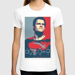 "Superman ""Hope"" Poster (Kryptonian) T-shirt"