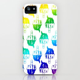 Rude and Fabulous iPhone Case